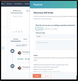 Playbook marketing automation