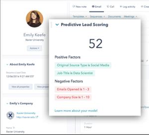 Predictive Lead Scoring