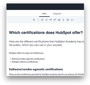 Knowledgebase Service Hub Professional