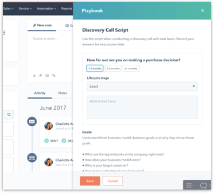 Playbooks Service Hub Enterprise